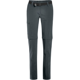 Maier Sports Inara Slim Zip Off Pants Women graphite